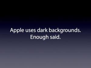 apple slide