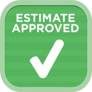 Estimate approved logo