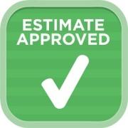 Estimate approved logo